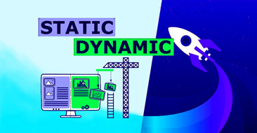 آموزش Static or dynamic site