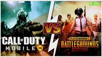 آموزش Comparison of Pabji Mobile and Call of Duty Mobile games